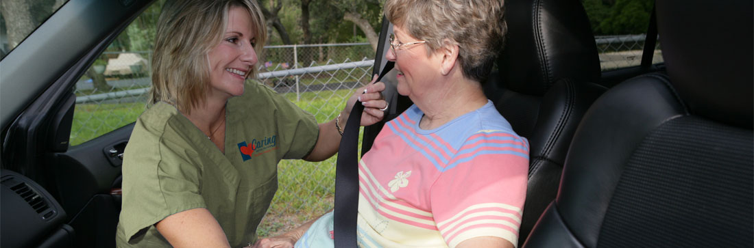 Caring Senior Service Caregiver