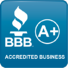 BBB A+ Accredited Business Badge