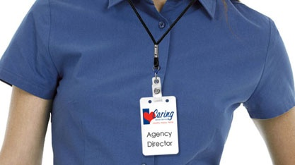 Close up of Agency Director Uniform with badge