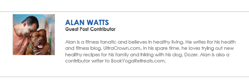 Alan Watts Guest Post Contributor Bio