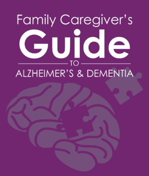 Alzheimers Guide for Family Caregivers Cover