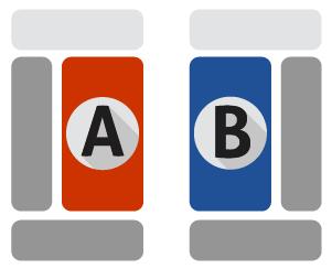 A-B Comparison Icon