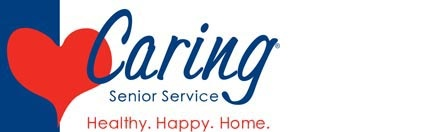 Logo for Caring Senior Service - Healthy. Happy. Home.
