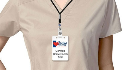 Certified Home Health Aid Uniform Mock