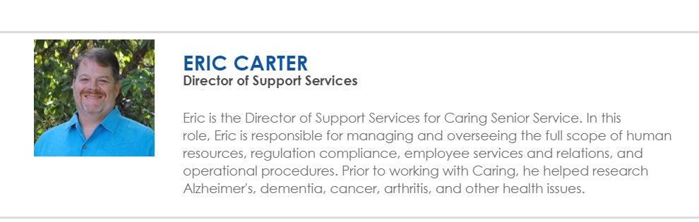 Eric Carter Bio