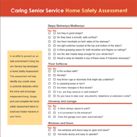 Home Safety Assessment Cover