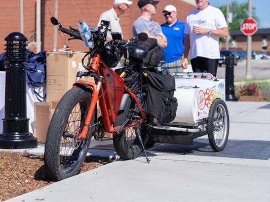 Jeff Bike and gear