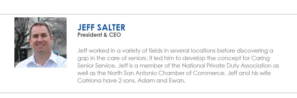 Jeff Salter bio