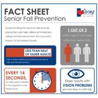 Thumbnail for Fact Sheet of Senior Fall Prevention