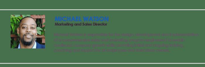 Micahel Watson - Blog Author