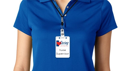 Nurse Supervisor Badge Mock
