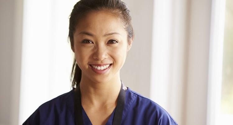 Portrait of female caregiver