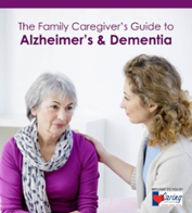 Family Caregiver's Guide to Alzheimer's & Dementia Cover