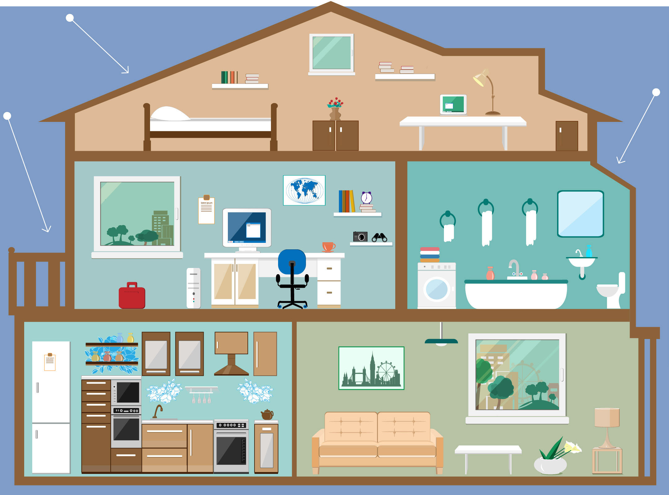 INFOGRAPHIC - Fall Hazards In The Home