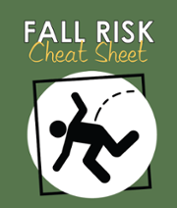 Fall Risk Cheat Sheet Cover
