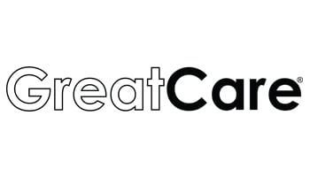 GreatCare Black & White Logo