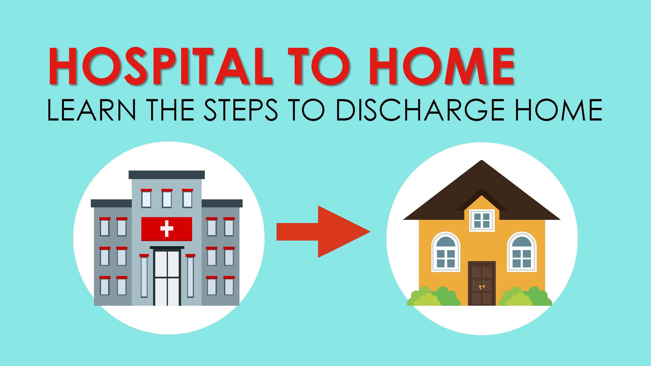 INFOGRAPHIC: Hospital to Home Step-By-Step Guide