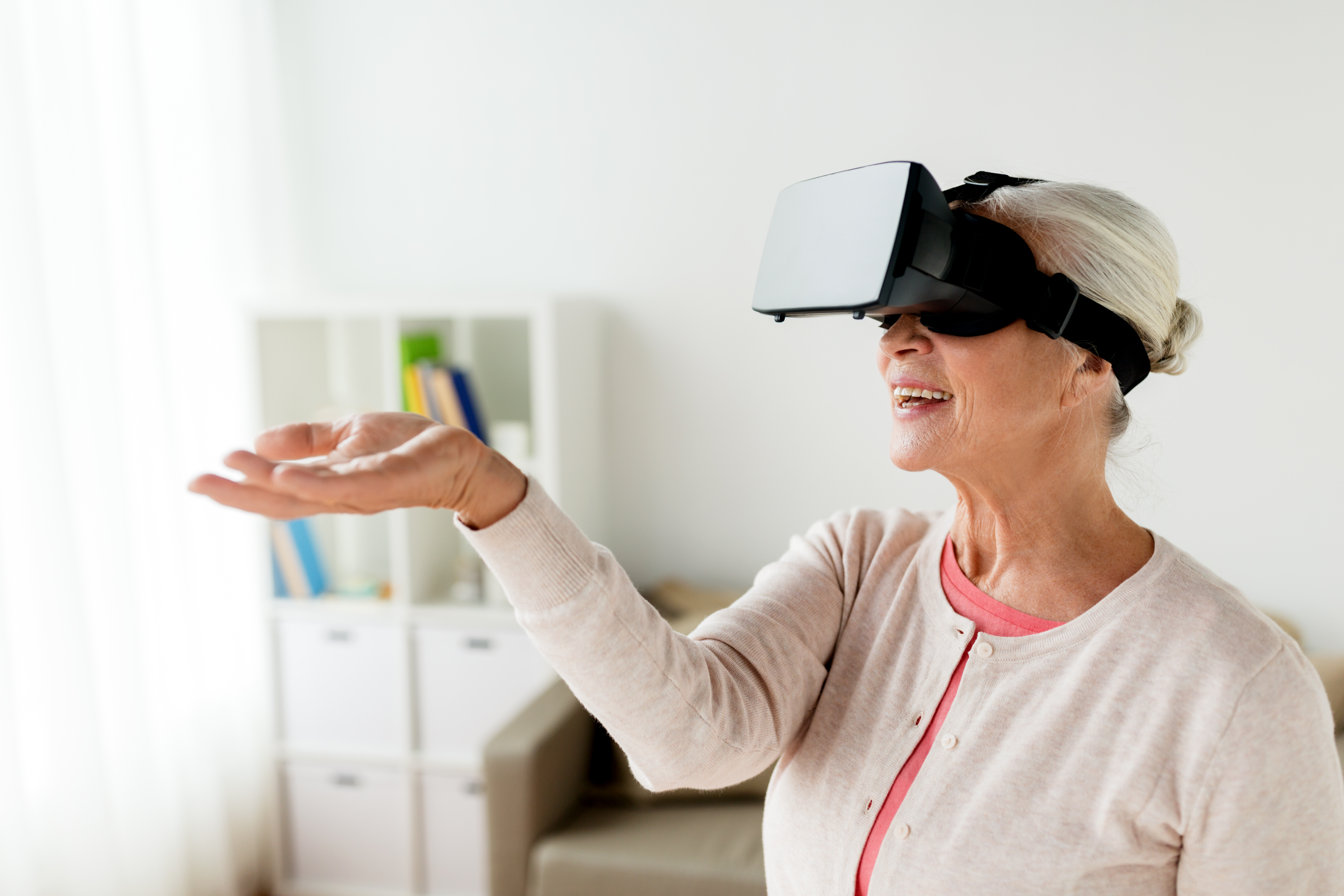 Virtual Reality Vacations for Seniors