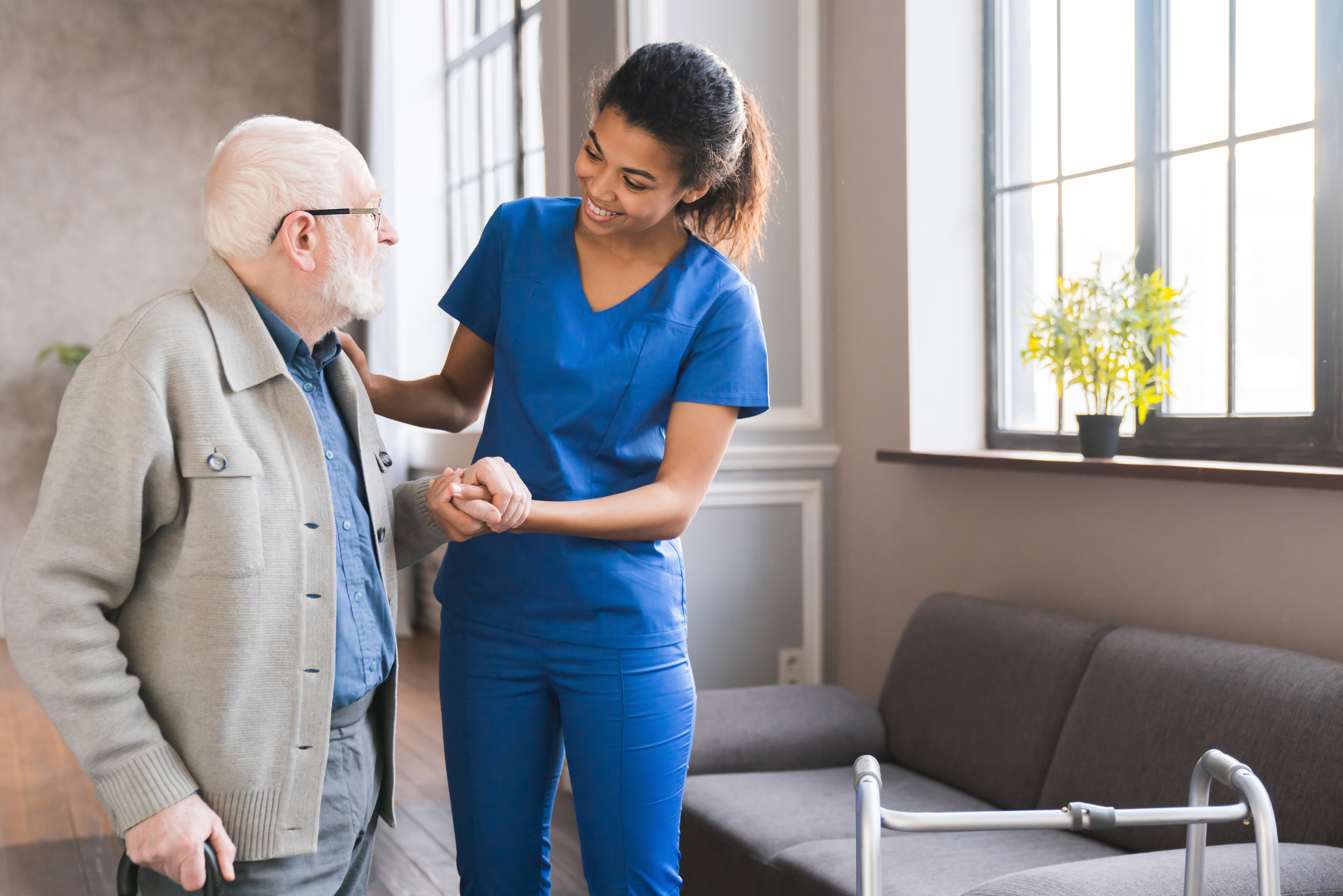 How Home Care Helps Seniors after a Stroke