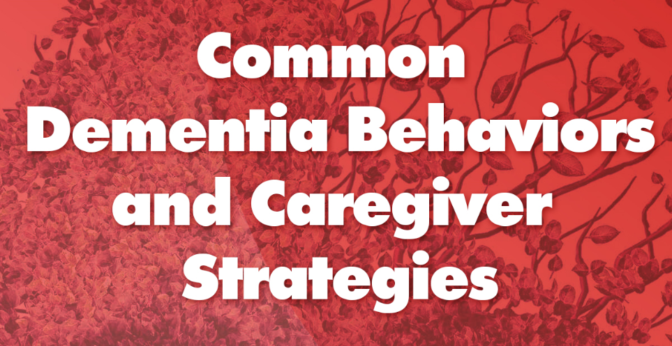 INFOGRAPHIC: Common Dementia Behaviors and Caregiver Strategies
